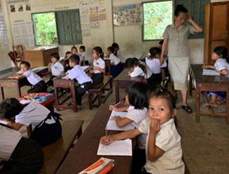 教室での授業風