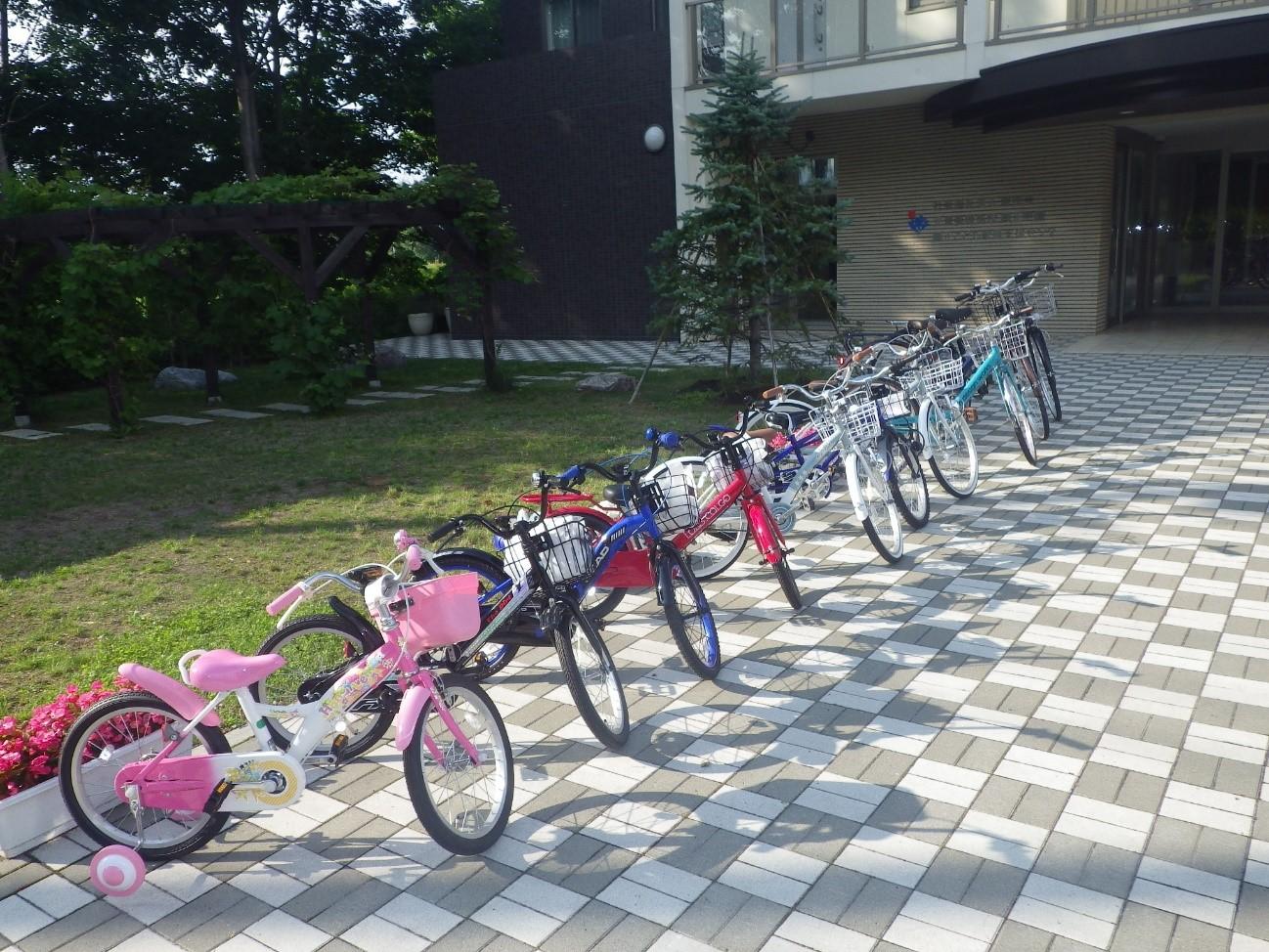 興正学園の子供たちにプレゼントした自転車